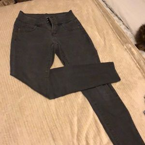 Royalty black high waisted skinny jeans